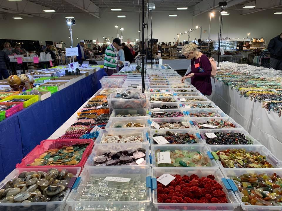 Tucson, AZ,                                   G&LW Gem Show,              April 10 thru 18, 2021
